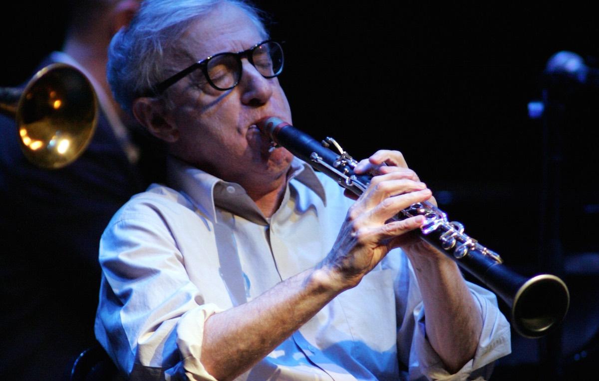 Woody Allen è un grande conoscitore della musica jazz americana. Foto: Michael Bush/UPI
