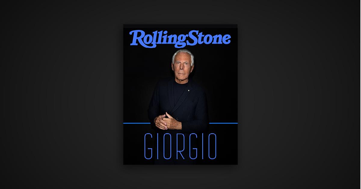 Giorgio Armani Digital Cover Rolling Stone