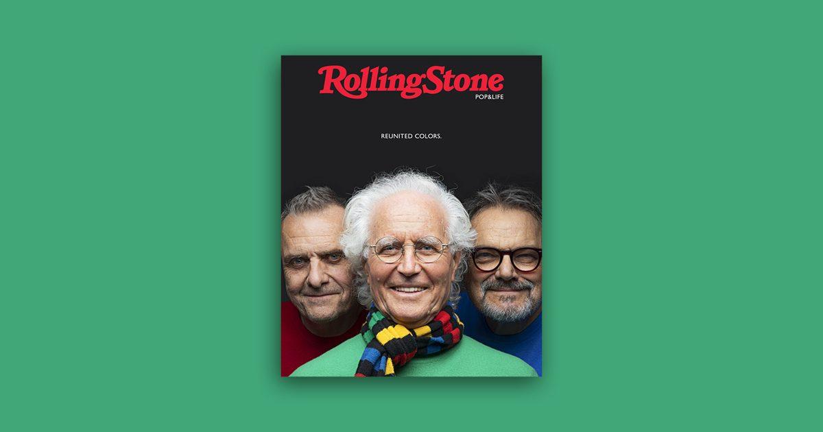 Charles De Castelbajac, Luciano Benetton e Oliviero Toscani