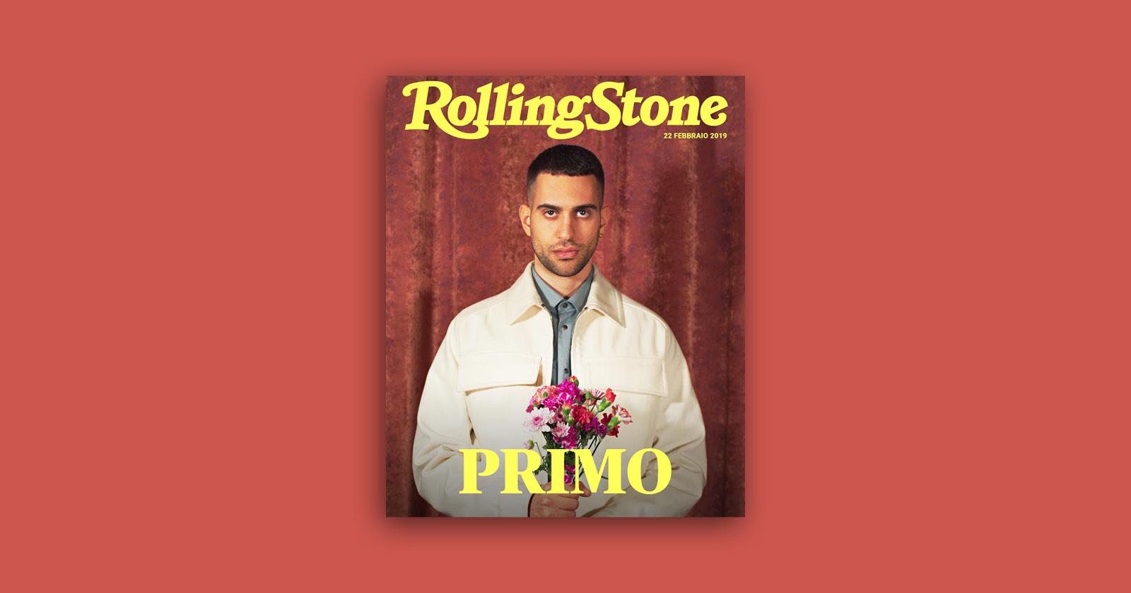 Mahmood digital cover rolling stone