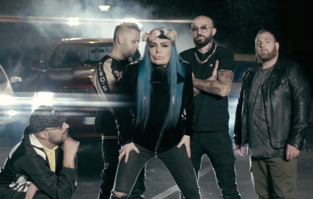 Loredana Bertè e i Boomdabsh: la loro è stata la canzone più trasmessa dalle radio nel 2018