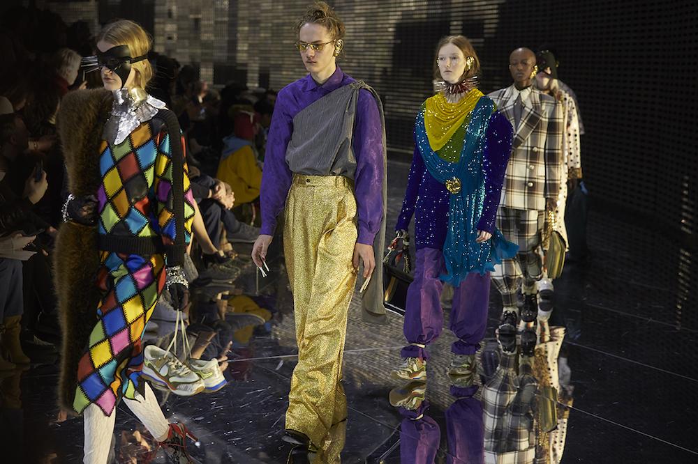 Gucci sfilata milano fashion week AI 2019