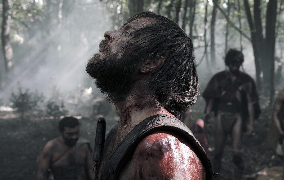 Un'immagine tratta da 'Il primo re' con Alessandro Borghi