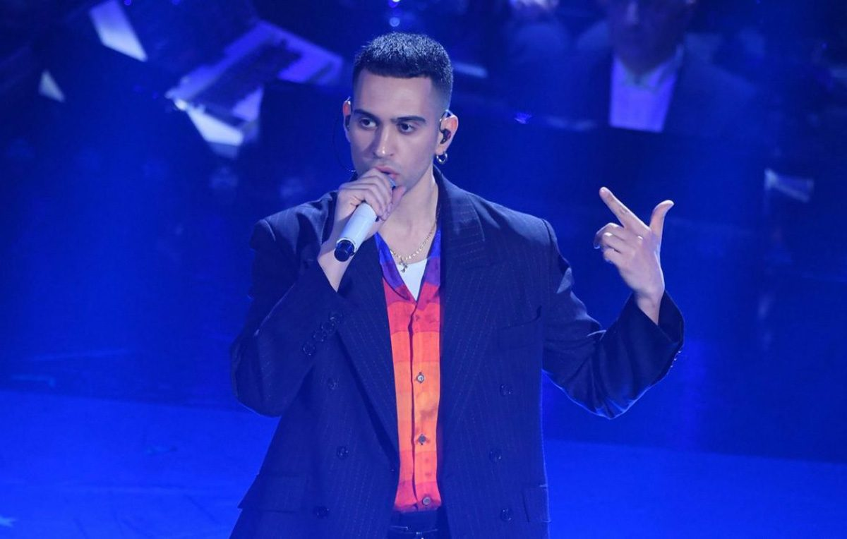 Il vincitore del 69° Festival di Sanremo, Mahmood. Foto: IPA