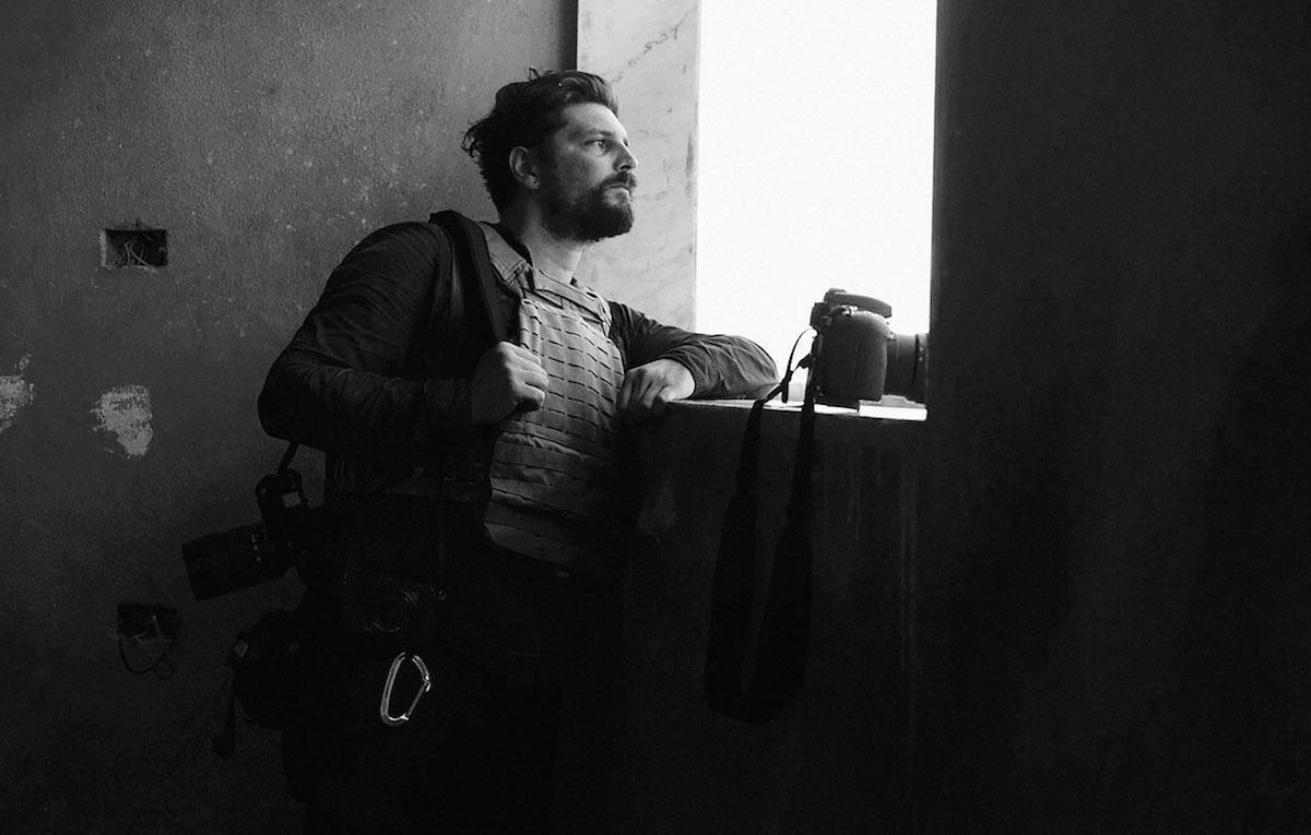 Gabriele Micalizzi si trova in Siria per un reportage