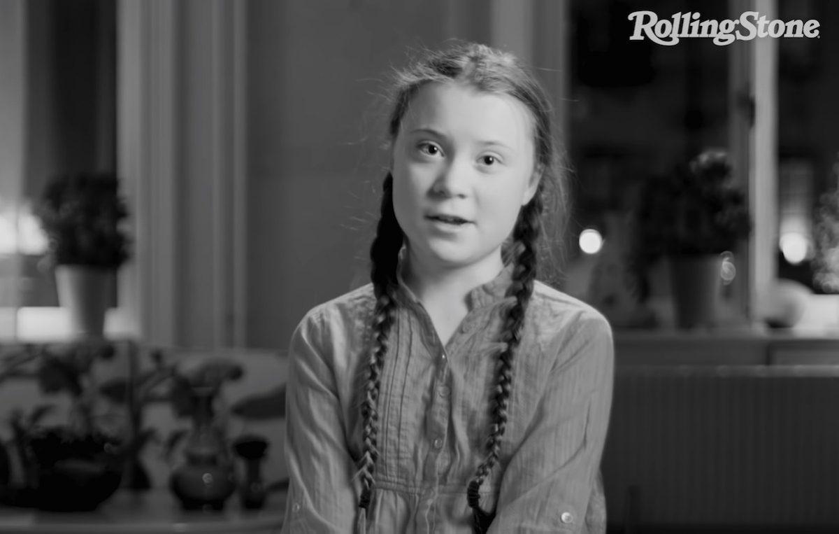 La prima volta di Greta Thunberg