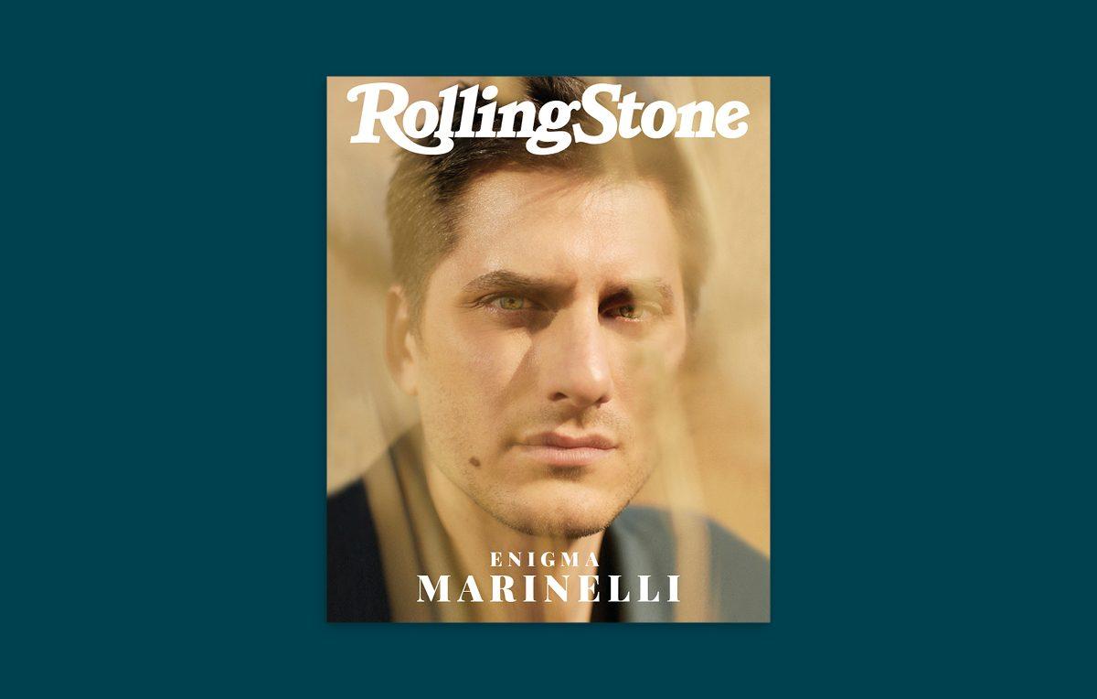 Luca Marinelli digital cover 25 Marzo 2019