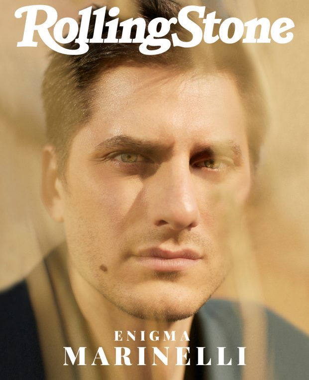Luca Marinelli digital cover Rolling Stone 25 Marzo 2019