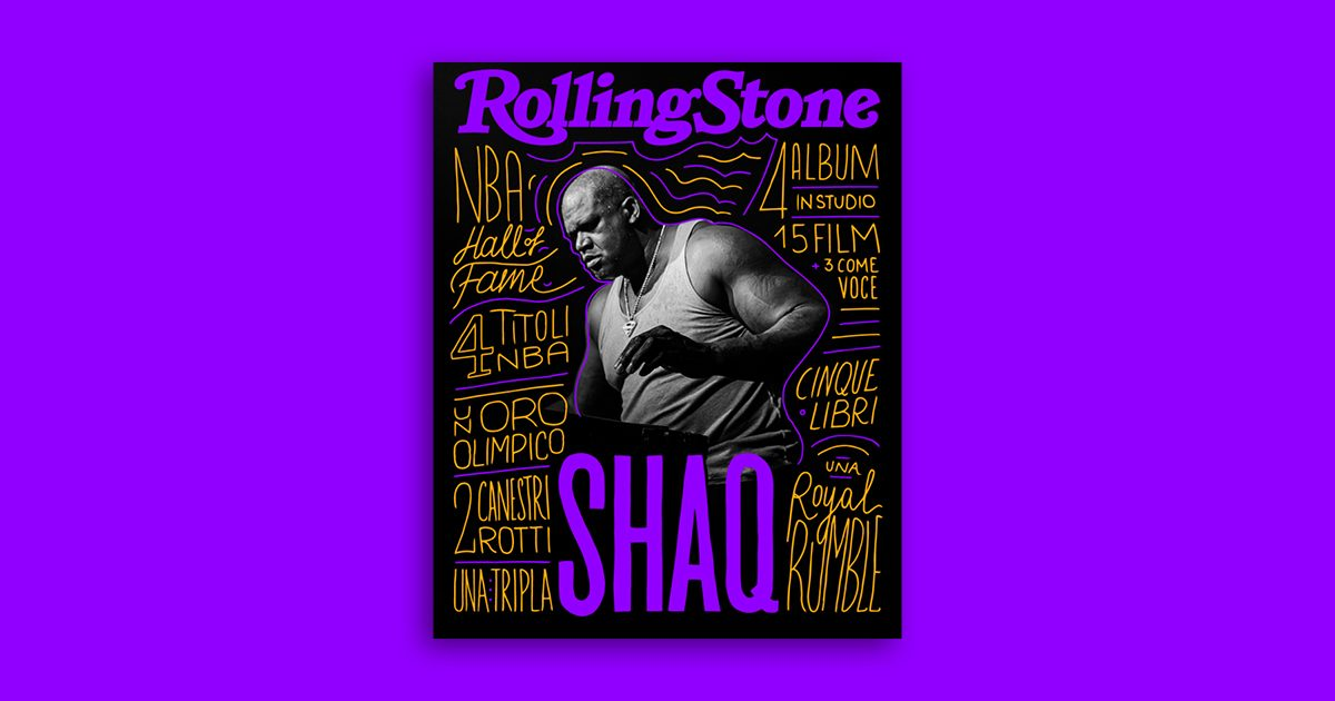 Shaquille O'Neal Rolling Stone Digital Cover