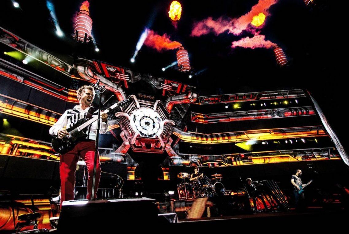 Muse, in anteprima le immagini del film 'Live @ Rome Olympic Stadium'