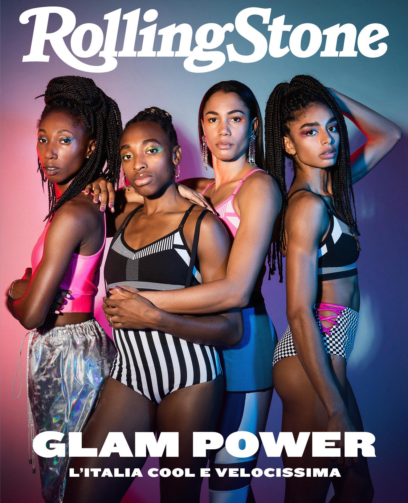Da sinistra a destra Chigbolu, Folorunso, Grenot e Lukudo per Rolling Stone Italia