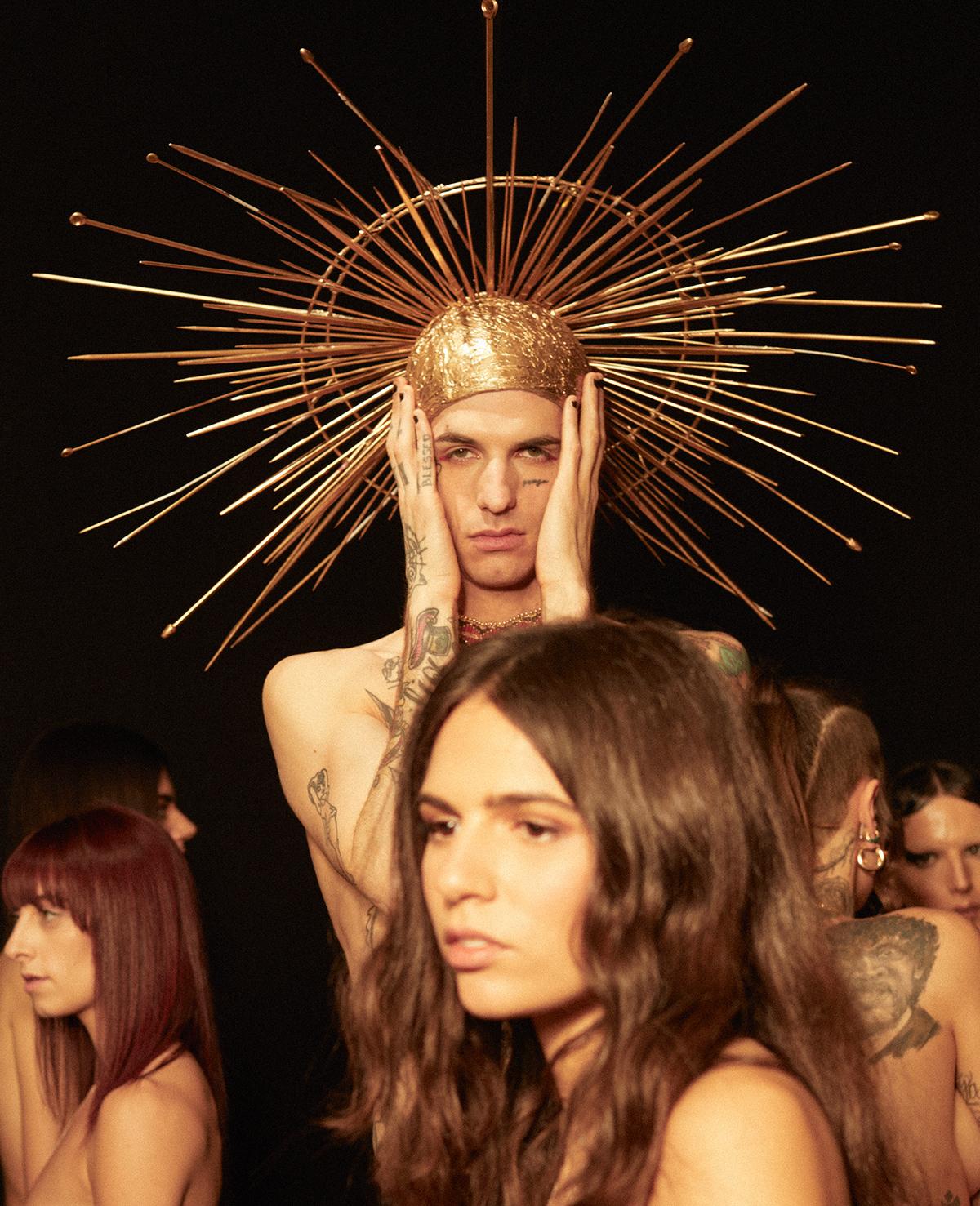 Achille Lauro fotografato da Fabio Leidi per Rolling Stone