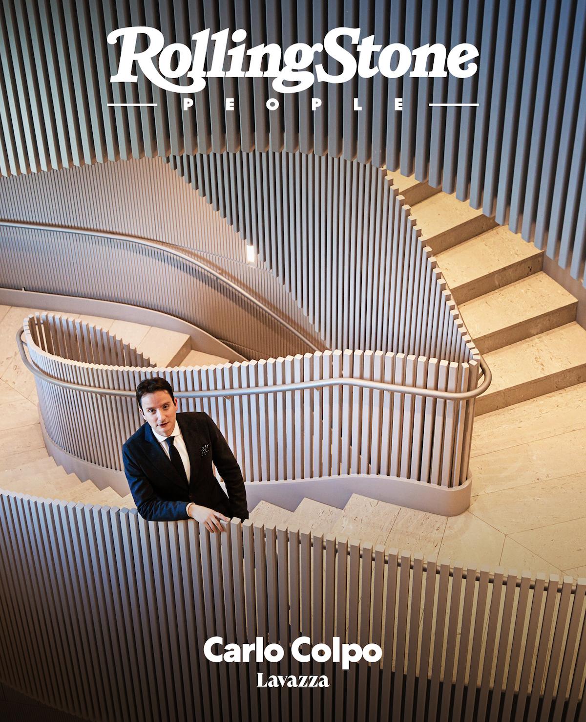 Carlo Colpo digital cover Rolling Stone Italia