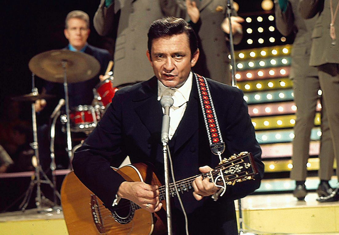 Flashback: Johnny Cash canta 'The Unclouded Day' con sua madre