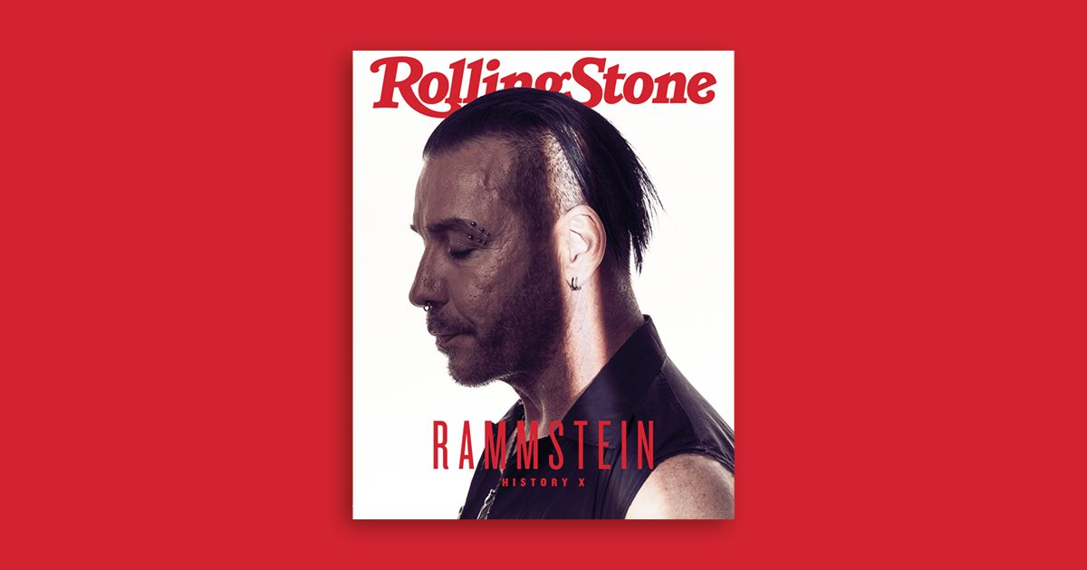 Rammstein digital cover rolling stone