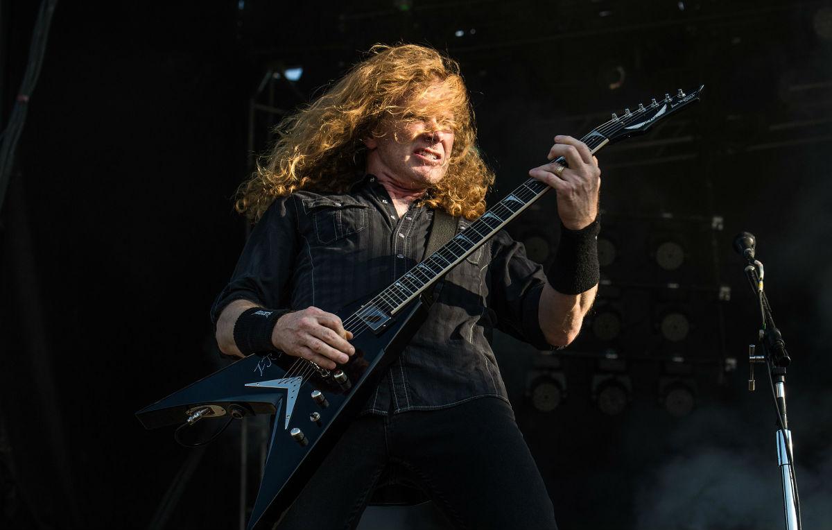 Megadeth, Dave Mustaine ha un tumore alla gola
