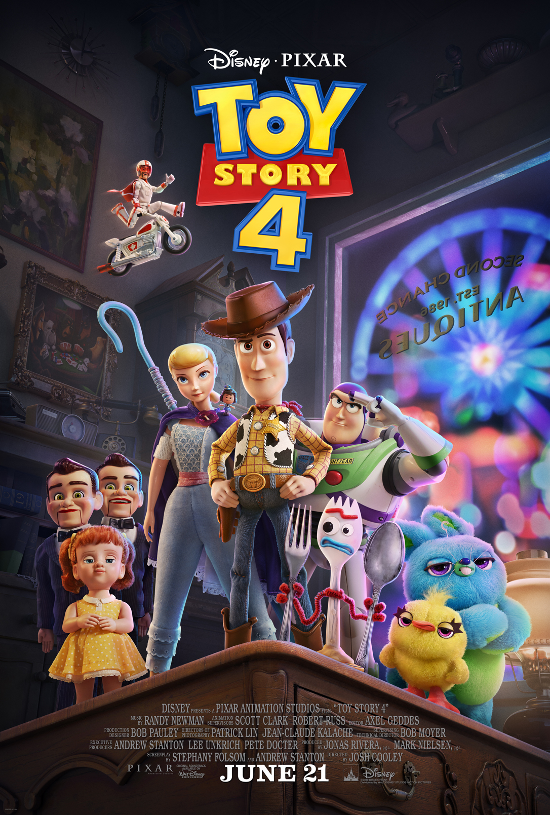 Toy Story 4 - Josh Cooley.