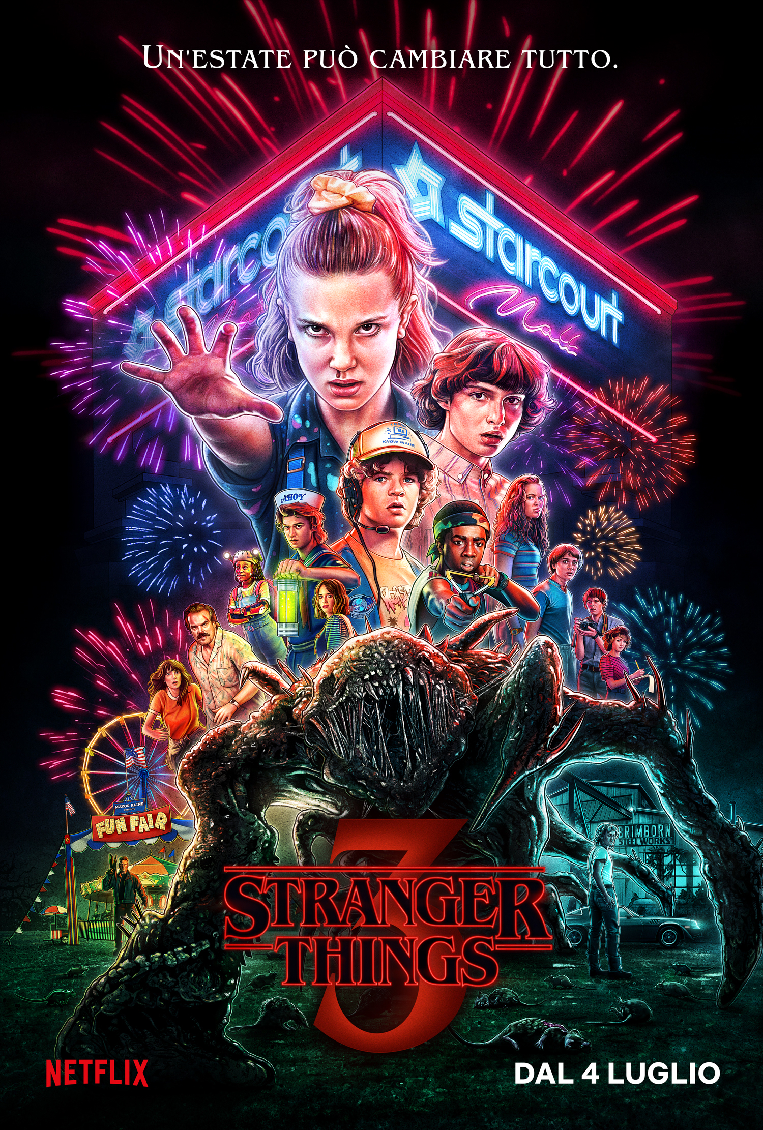 Stranger Things 3 - Matt e Ross Duffer