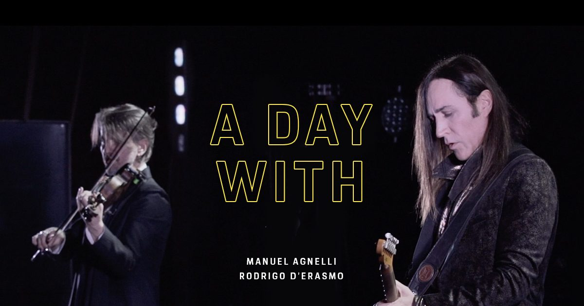 A day with Manuel Agnelli