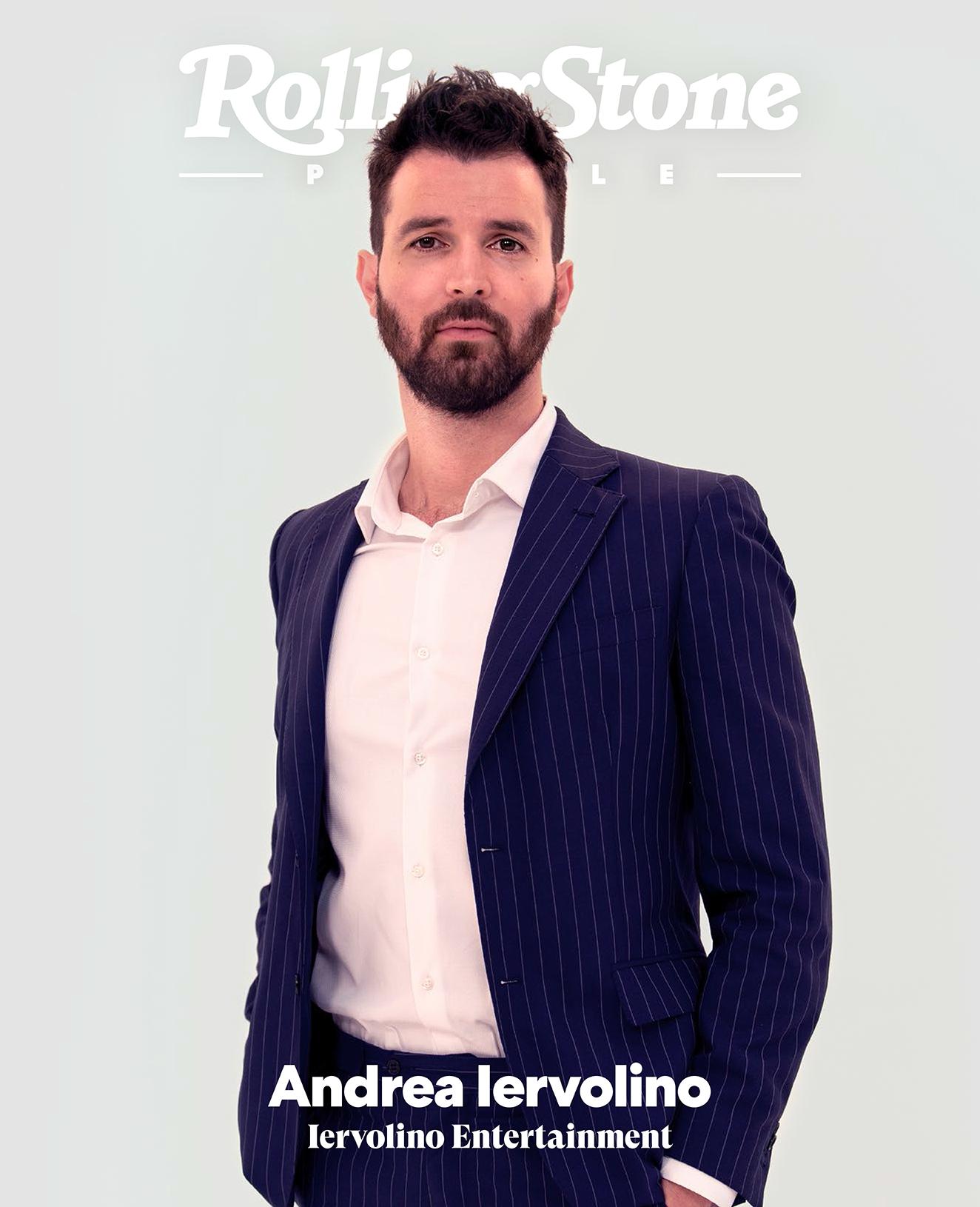 Andrea Iervolino digital cover Rolling Stone Italia