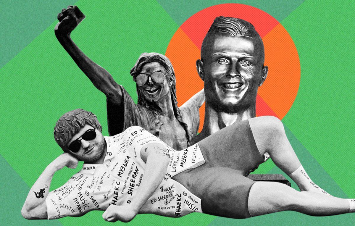 Ed Sheeran, Michael Jackson, Cristiano Ronaldo: 10 statue brutte e dove trovarle