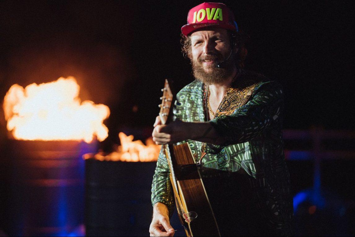 Jovanotti sul palco del Jova Beach Party. Foto: Michele Lugaresi