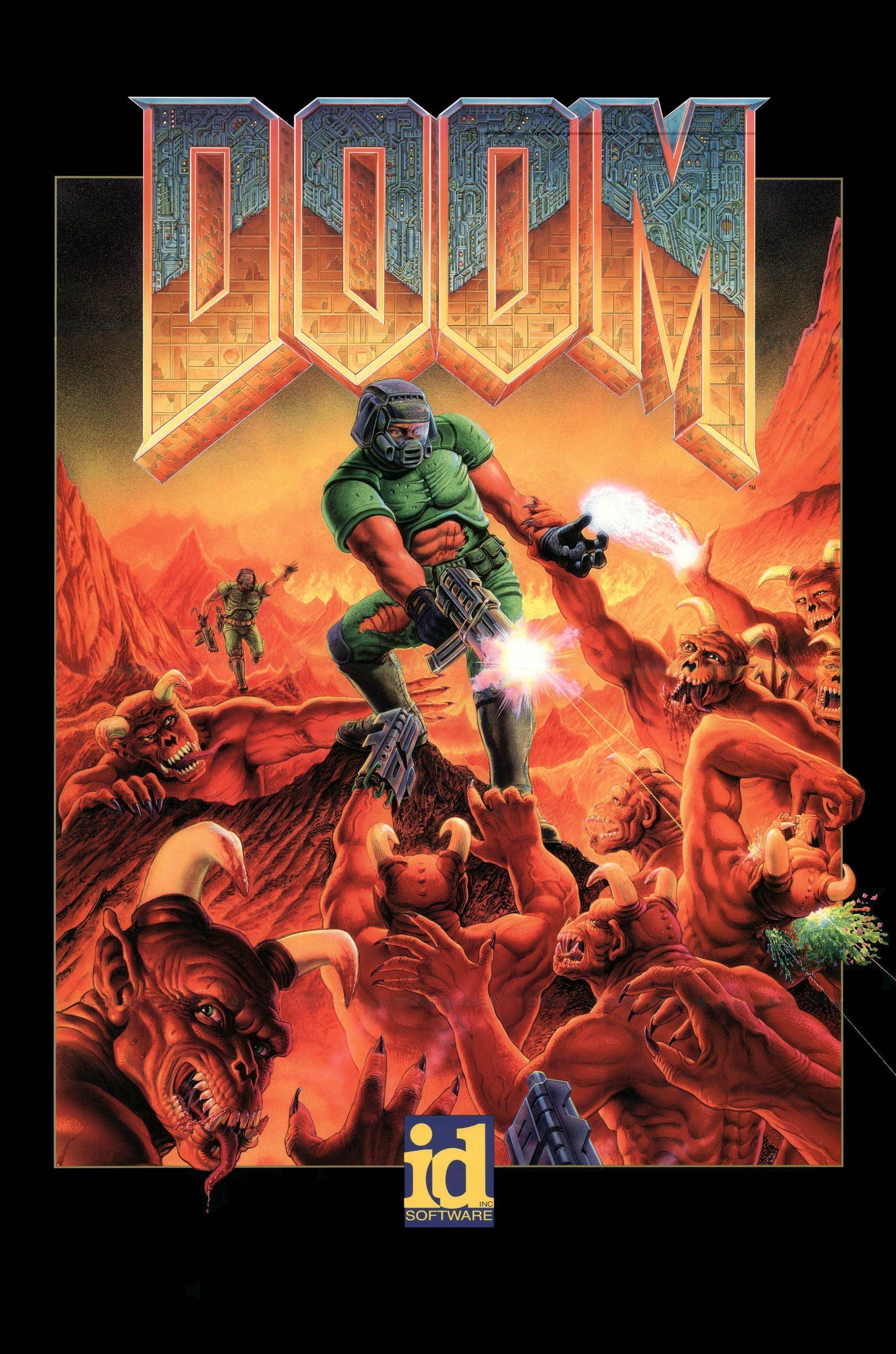 DOOM, DOOM II, DOOM 3 - id Software