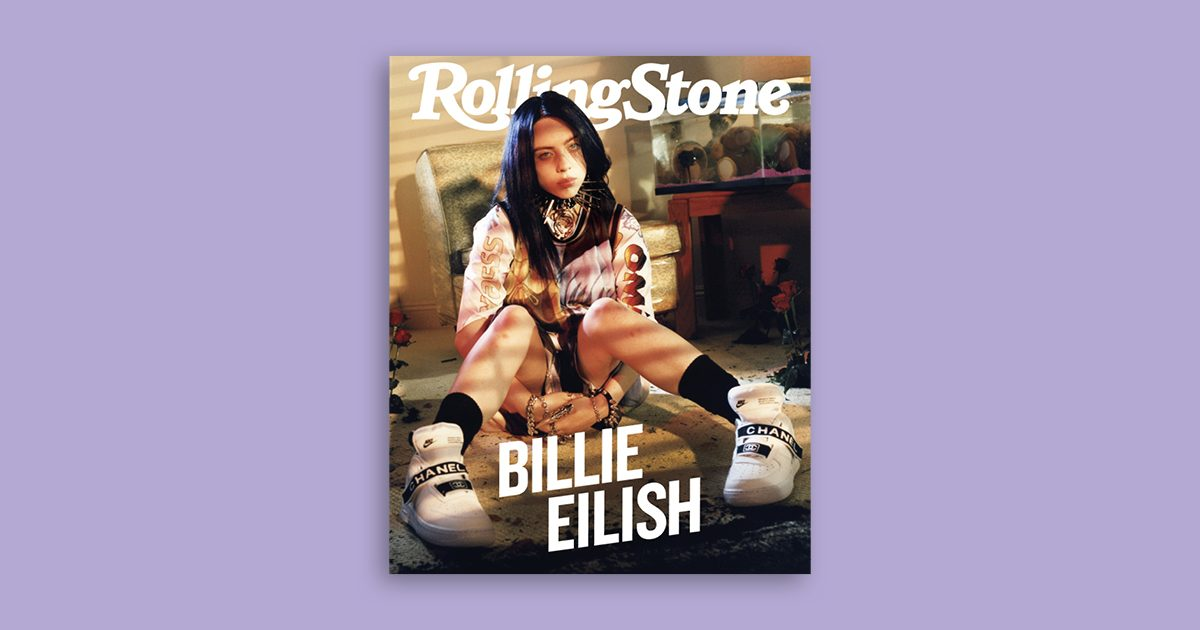 Billie Eilish cover Rolling Stone