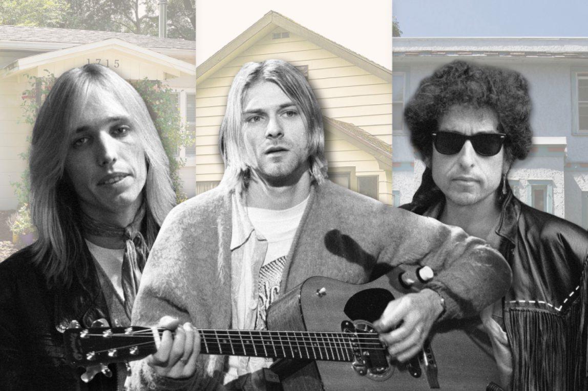 Dimenticate le chitarre: comprate le case d'infanzia delle rockstar
