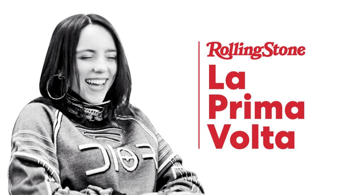 Billie Eilish - La Prima Volta Rolling Stone