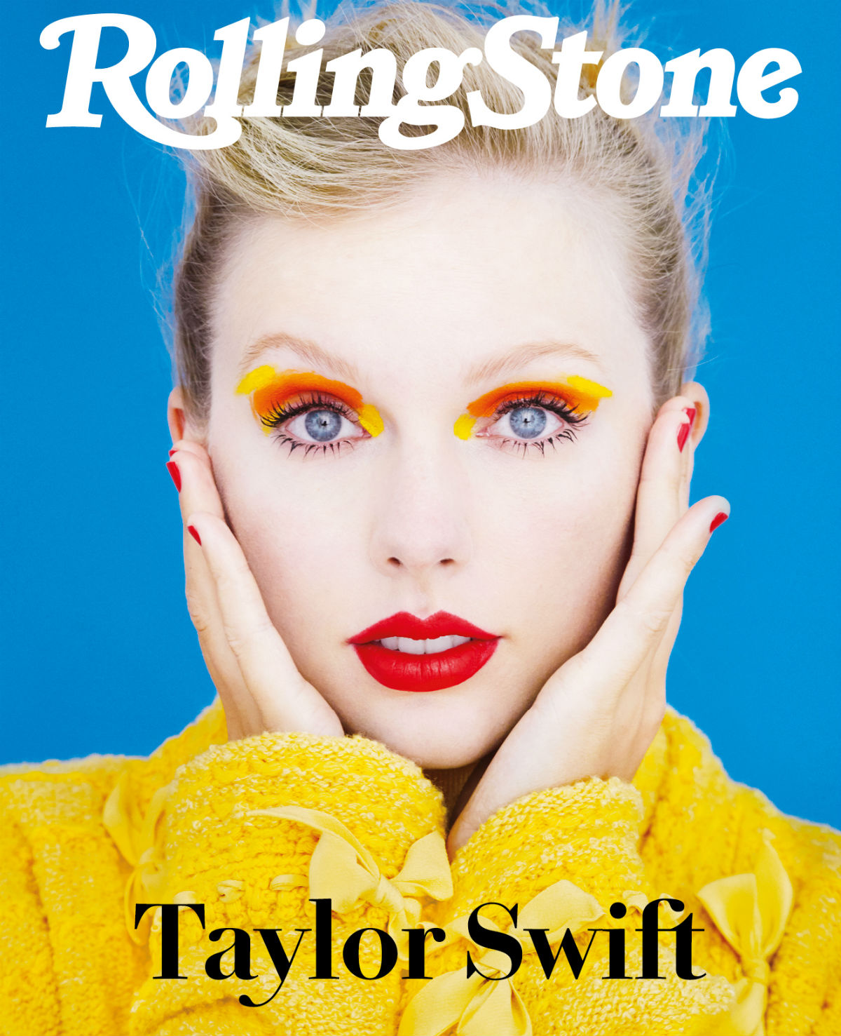 Taylor Swift digital cover Rolling Stone Italia