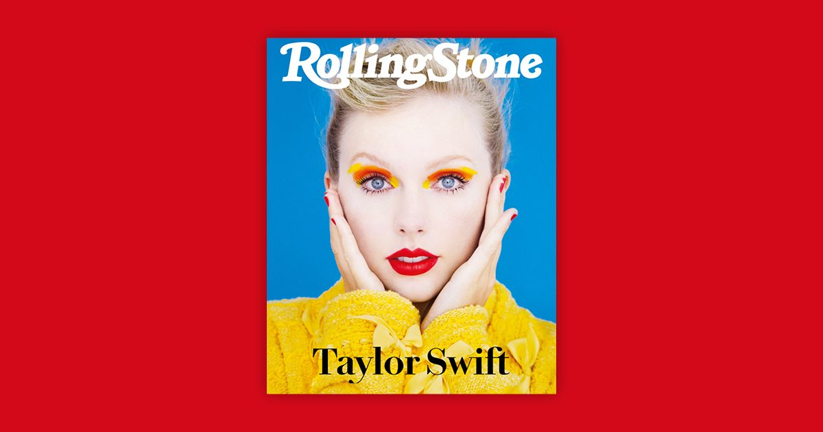 Taylor Swift digital cover Rolling Stone