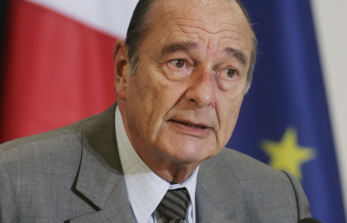 È morto Jacques Chirac, ex presidente della Repubblica francese