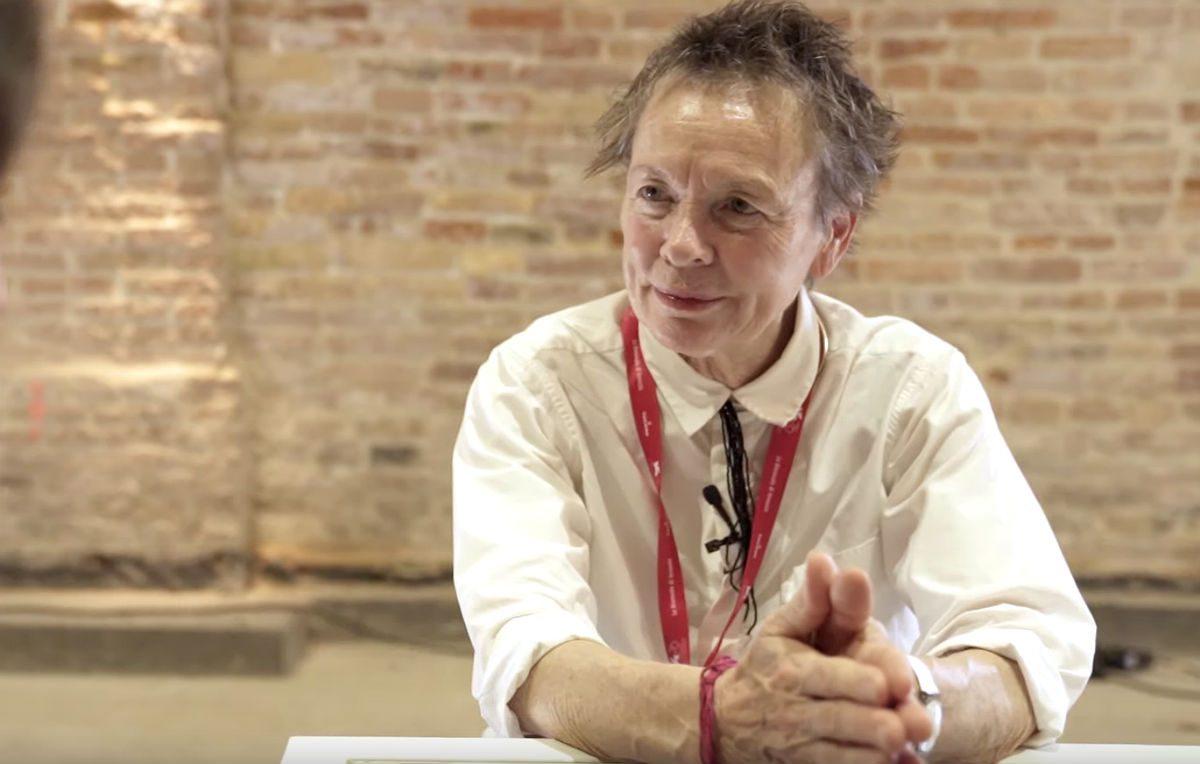 Laurie Anderson: «La realtà virtuale è la forma d'arte dell'empatia»