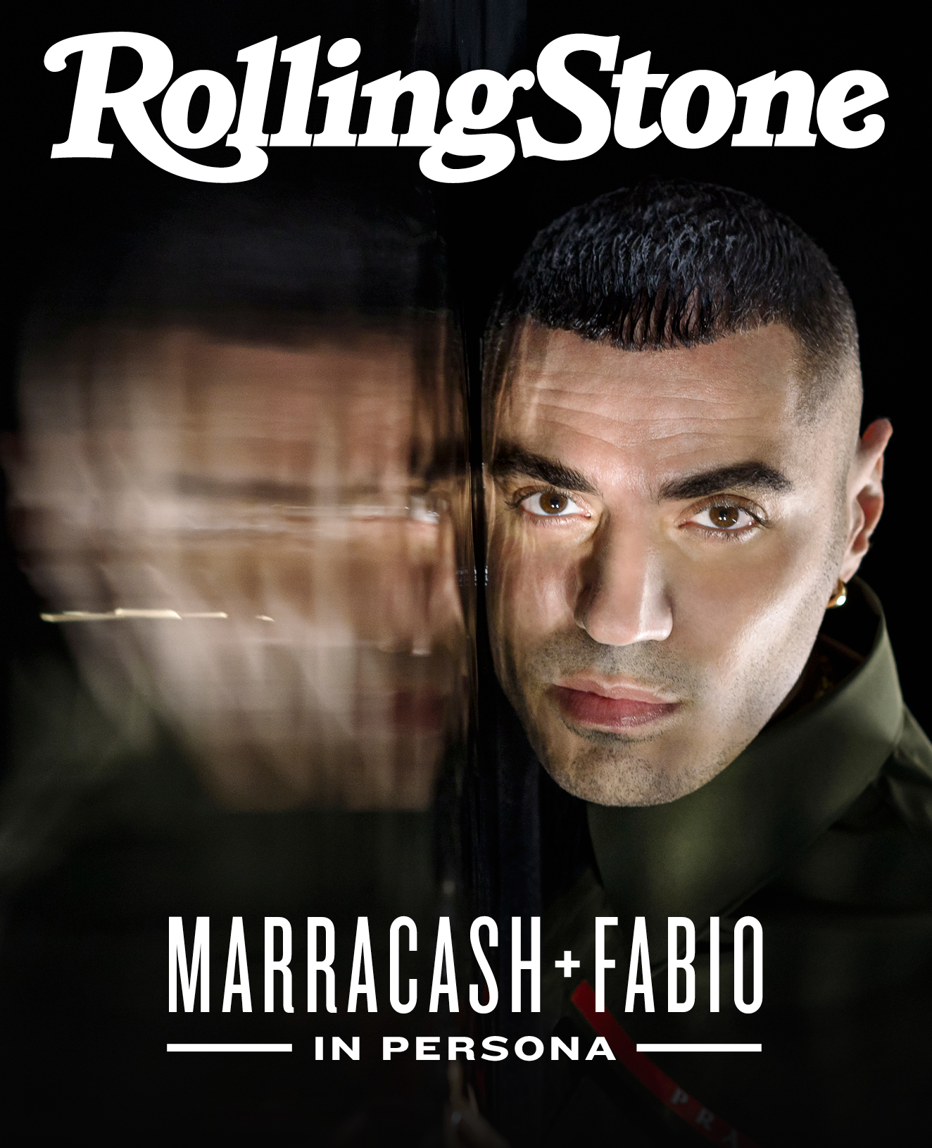 Marracash digital cover Rolling Stone Italia