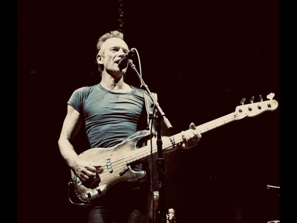 Sting. Foto via Facebook ufficiale