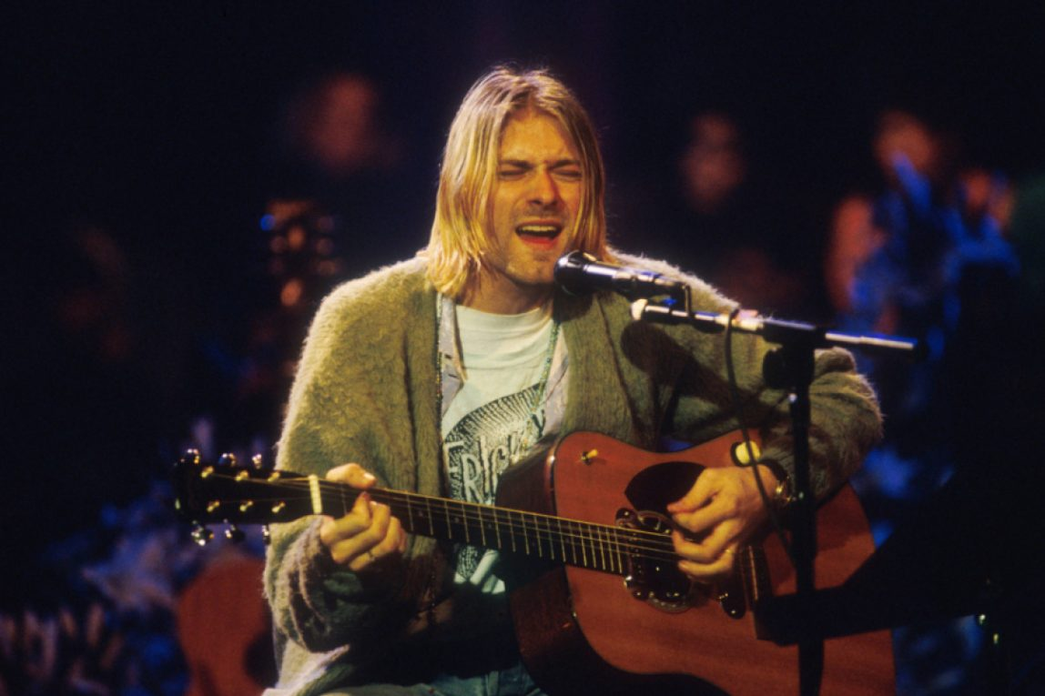 L'odissea del cardigan di Kurt Cobain