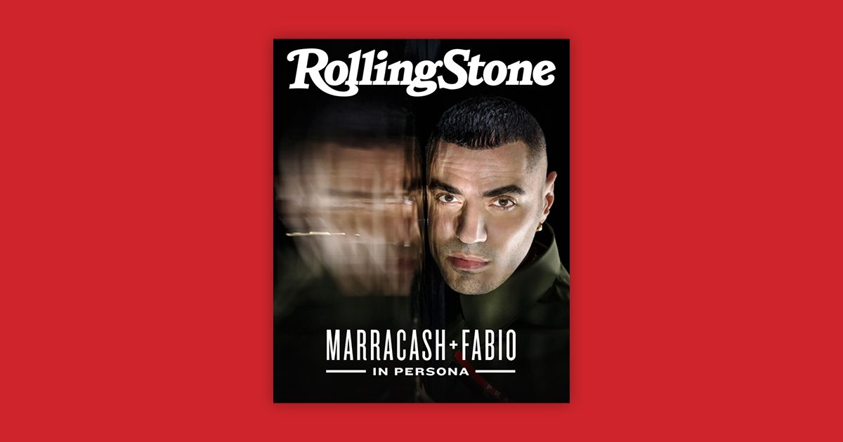 Marracash digital cover Rolling Stone