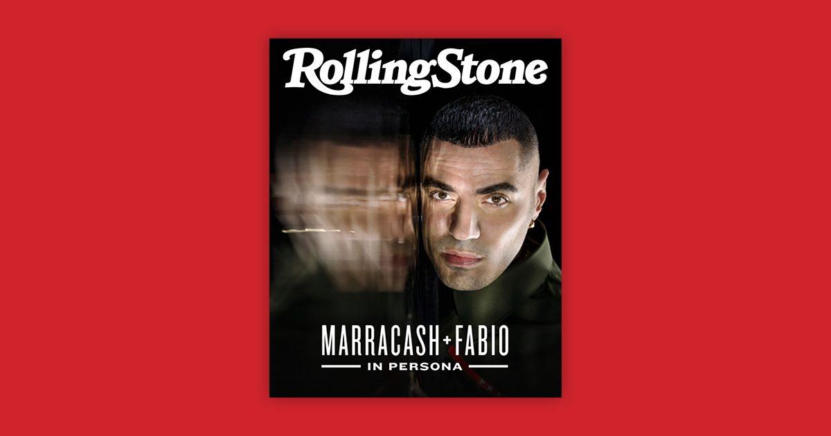 Marracash digital cover Rolling Stone