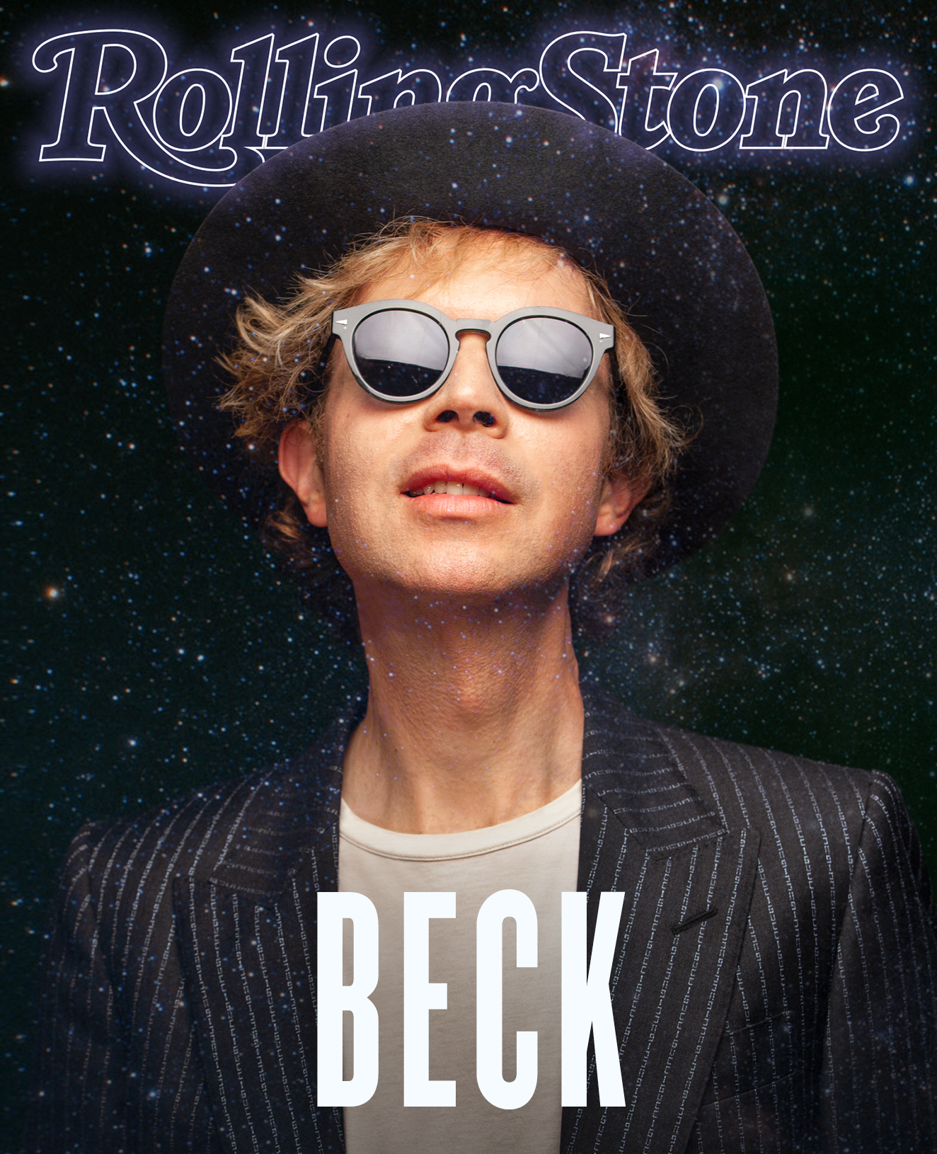 Beck digital cover Rolling Stone Italia
