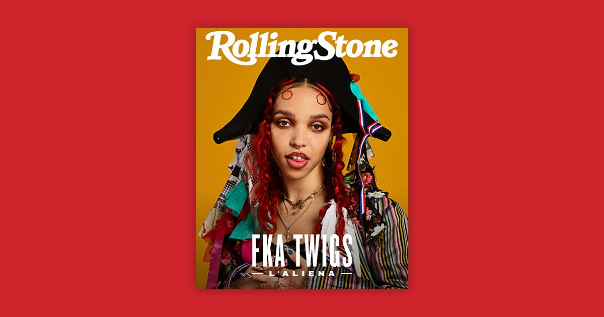 FKA Twigs Rolling Stone Cover