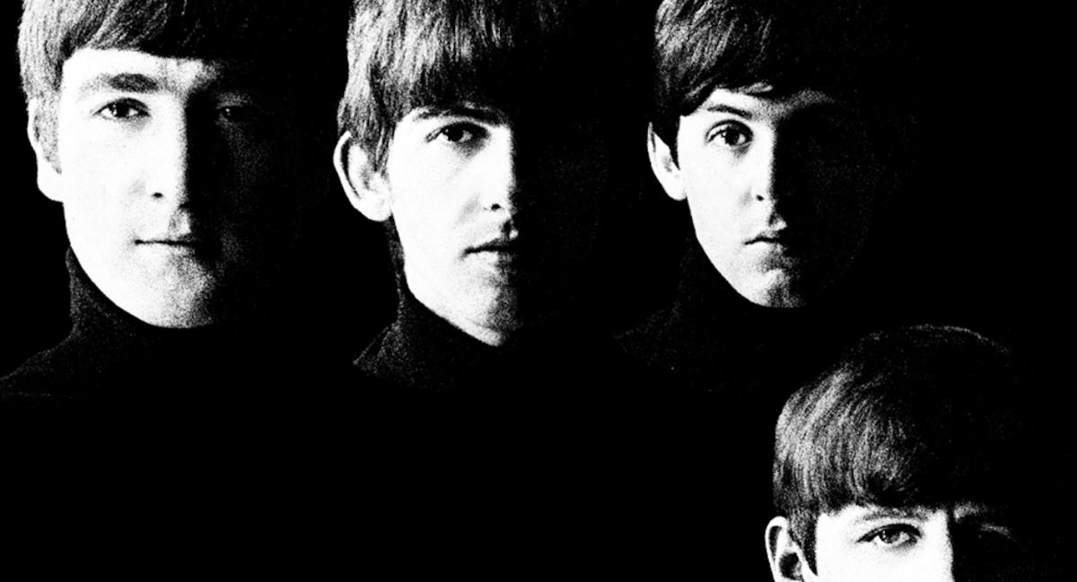 Un dettaglio della copertina di 'With the Beatles', scattata da Robert Freeman