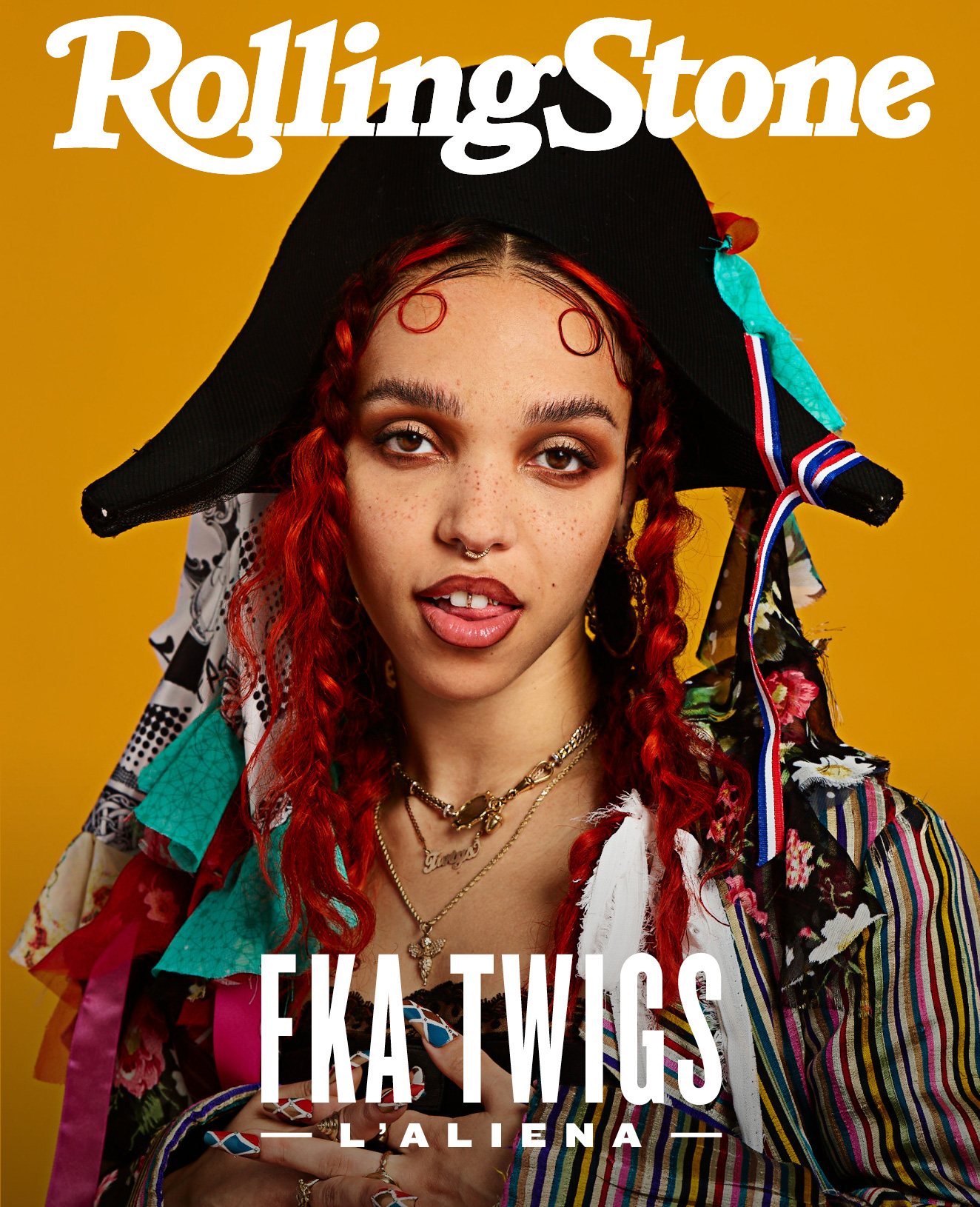 FKA Twigs digital cover Rolling Stone Italia