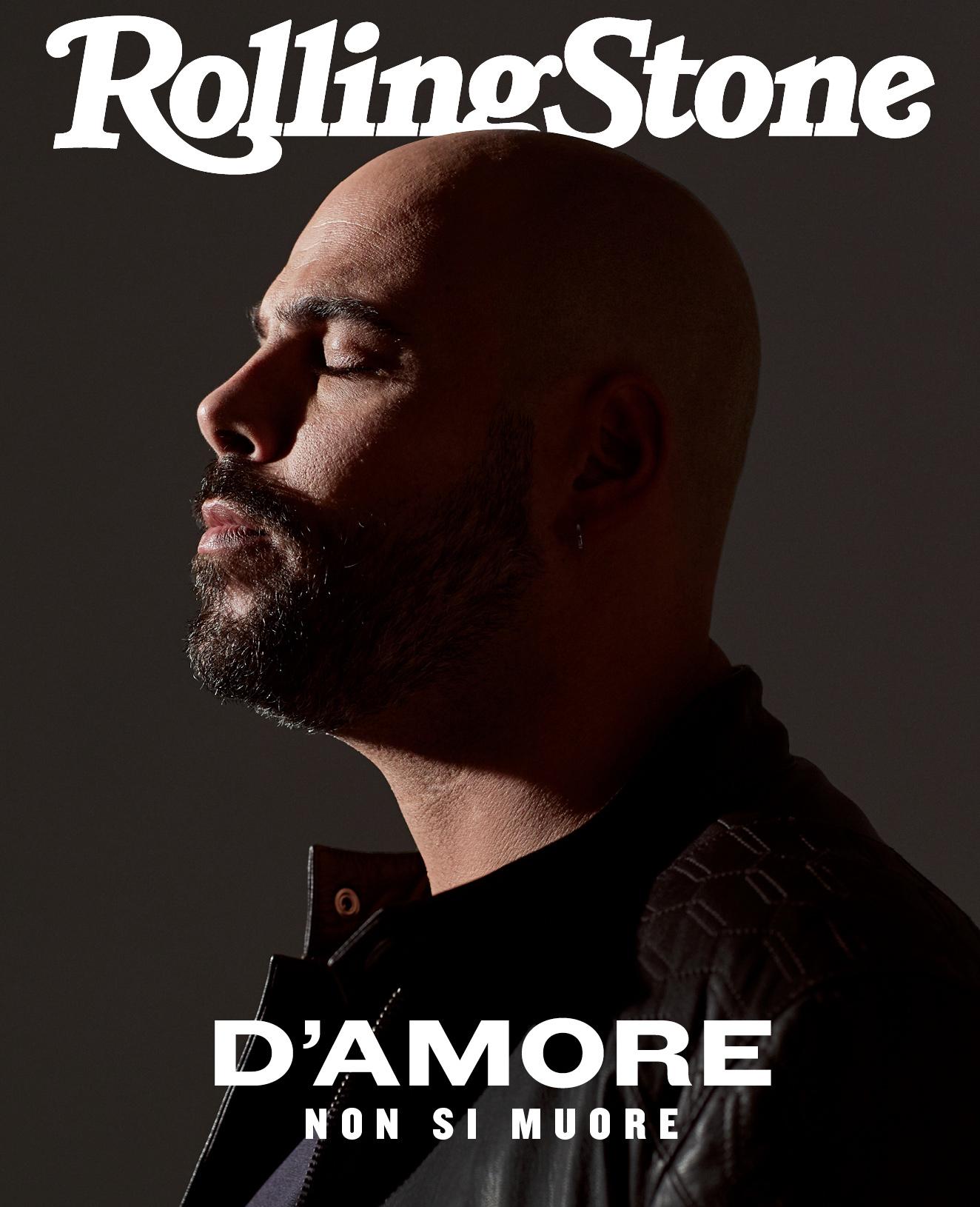 Marco D'Amore sulla digital cover di Rolling Stone - foto Roberto Patella, styling Lisa Tedeschini, makeup Simone Piacenti