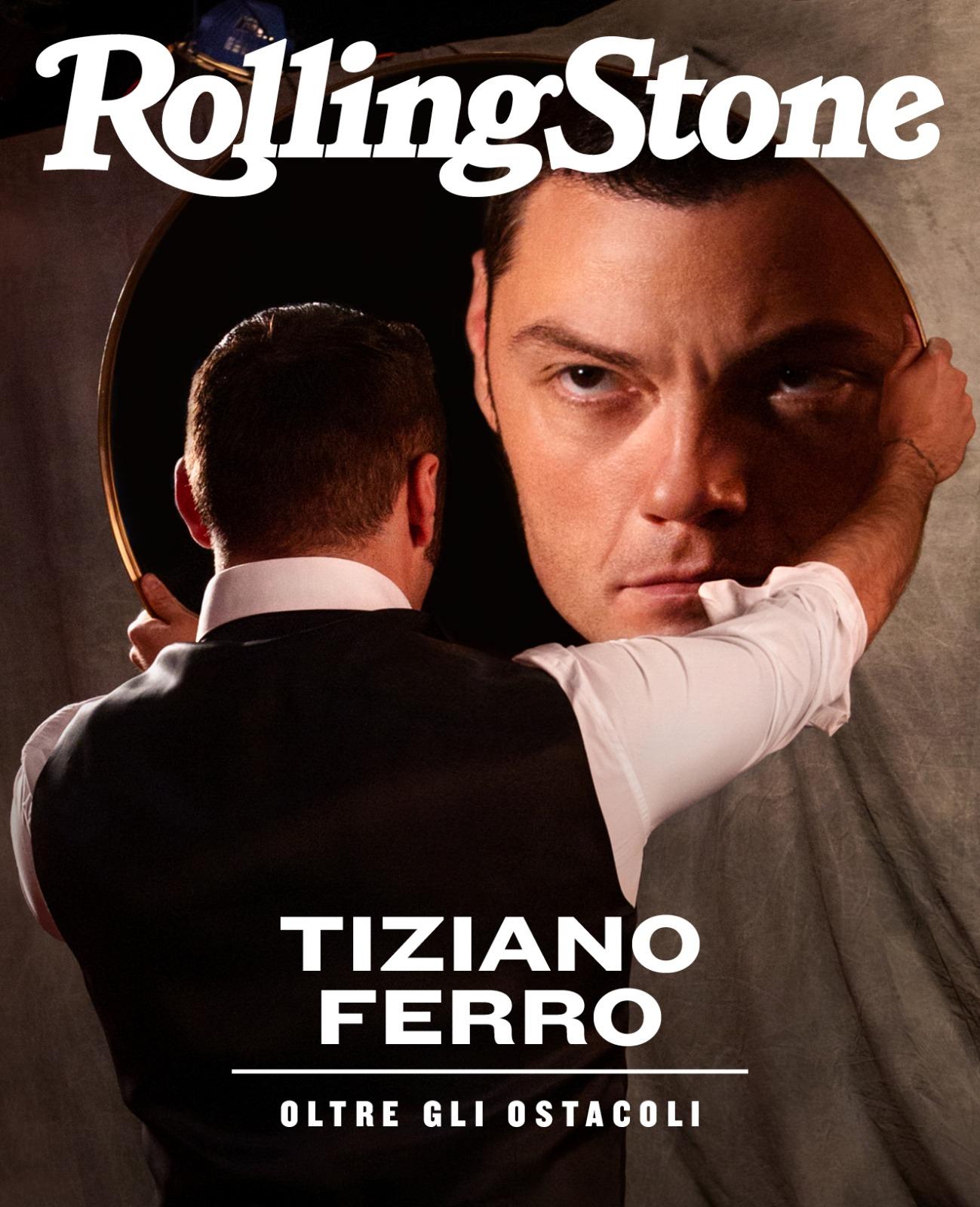 Tiziano Ferro digital cover Rolling Stone Italia