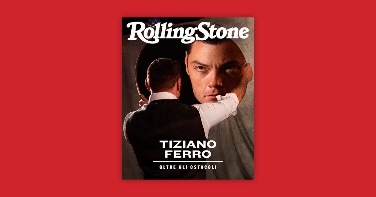 Tiziano Ferro digital cover Rolling Stone