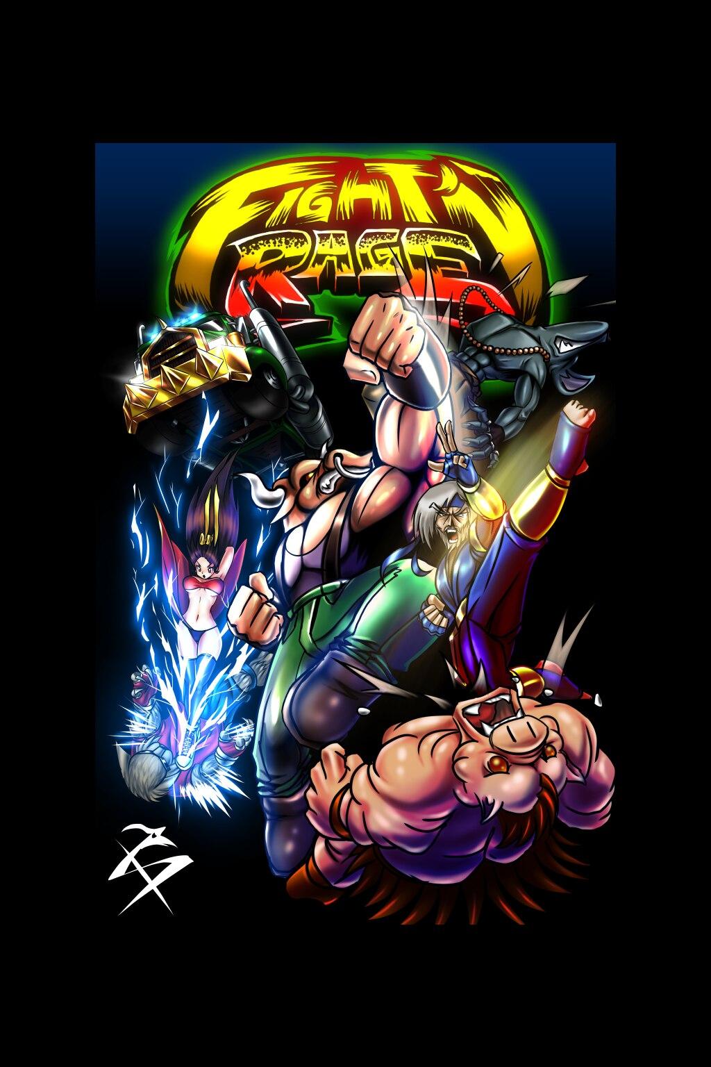 Fight'N Rage  - Seba Games Dev