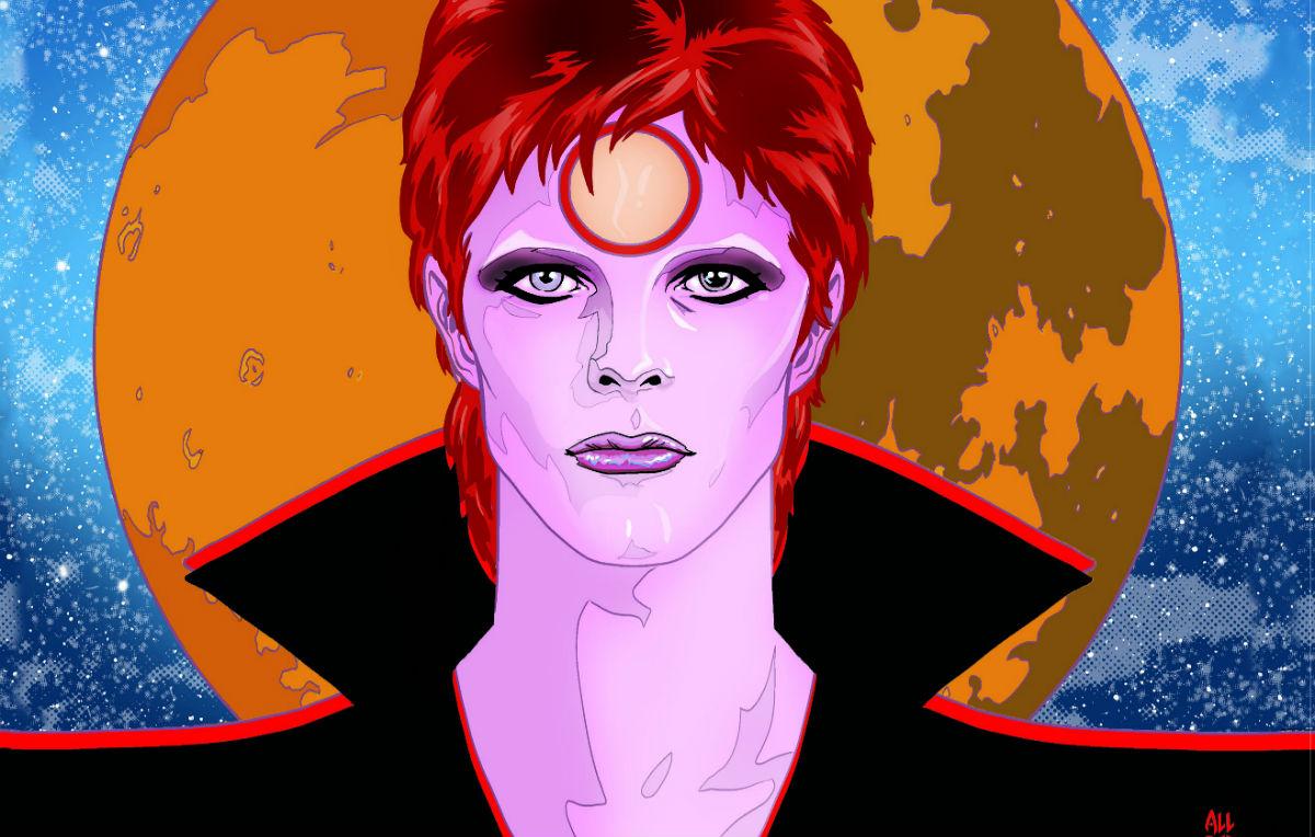 Bowie, un fumetto da collezione dedicato a David Bowie