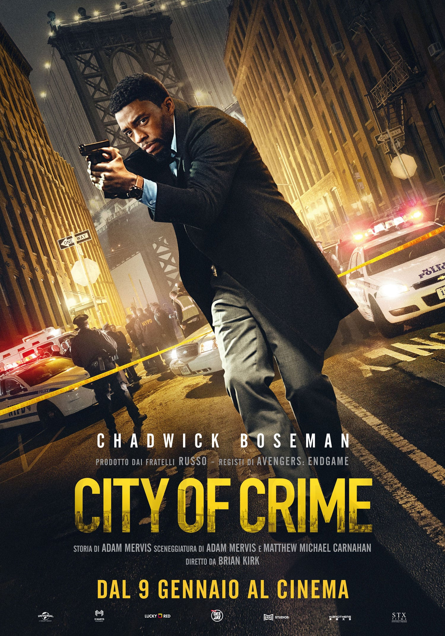 City of Crime - Brian Kirk