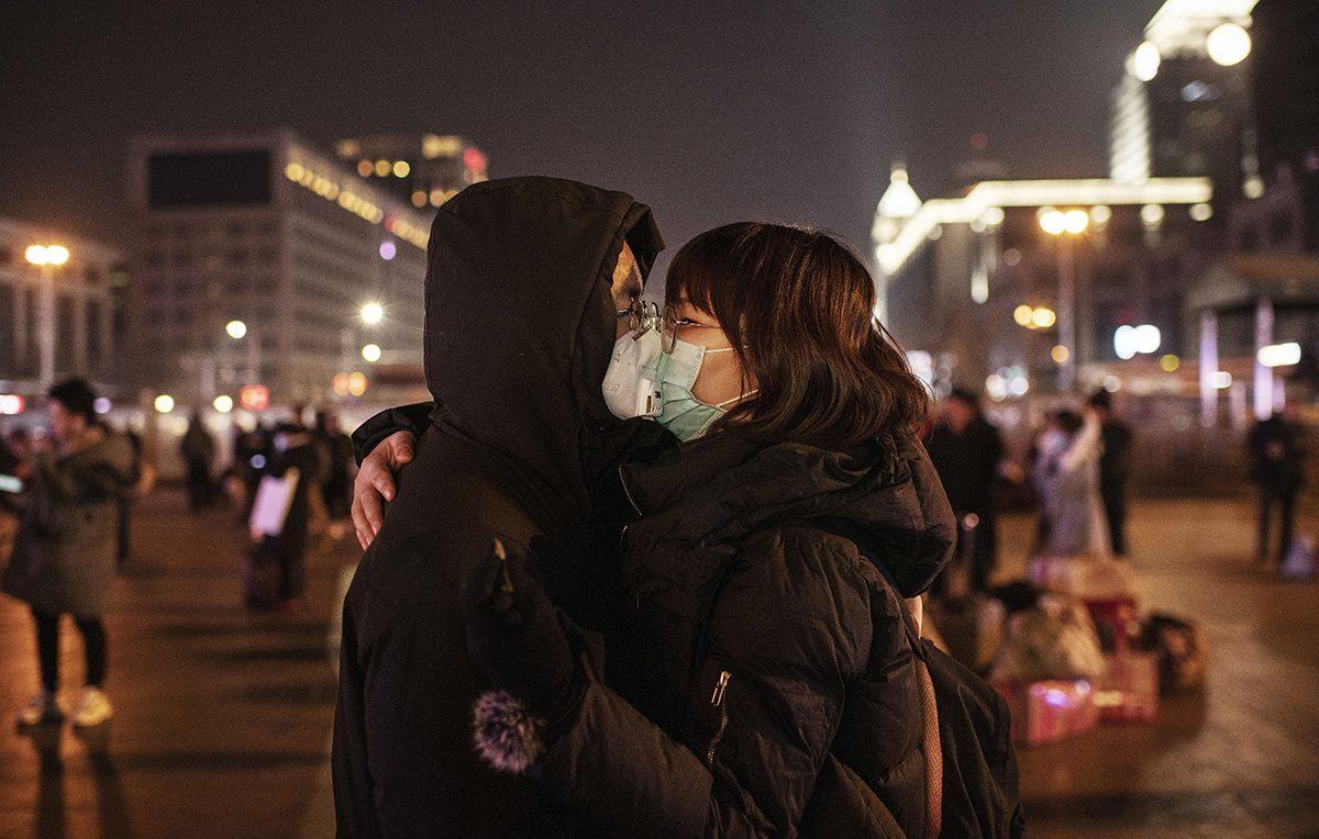 Il bacio di Wuhan